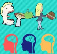 Cerebors y comida